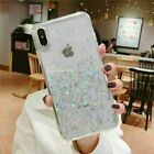 FixedPricefor apple iphone 11 pro max xs max xr x 8 7 6s plus glitter clear soft tpu case
