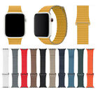 Magnetic Leather Loop Band For Apple Watch Series 5 4 3 2 1 42mm 38mm 44mm 40mm image