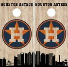 Houston Astros Cornhole Wrap MLB Game City Skyline Skin Vinyl Decal CO925 on Ebay
