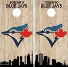 Toronto Blue Jays Cornhole Wrap MLB Game City Skyline Skin Vinyl Decal CO940 on Ebay