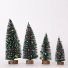 15-30cm Tabletop Christmas Pine Tree Xmas Mini Trees For Home Party Decoration