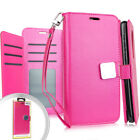 LG Aristo 4 Plus / LG Tribute Royal - Leather Card Wallet Case Diary Pouch Cover
