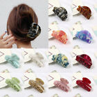 Women Candy Color Acrylic Hair Claws Crab Clamp Hair Clip Make Up Hair Tools New