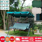 Waterproof Replacement Swing Canopy Cover Top Porch Patio Seat Outdoor Furniture