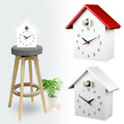 Home Decoration Hanging Wall Clock Cuckoo Bird Quartz Movement DIY Modern Chalet