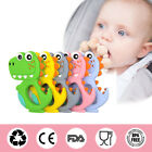 Food Grade Silicone Toddler Teething Necklace Baby Teether Chew Training Stick