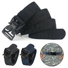 Men Military Belt Adjustable Buckle Combat Waistband Tactical Rescue Rigger 1.5