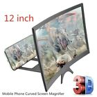 Mobile Phone Screen Magnifier 3D Video Amplifier HD Curved Screen Stand Holder