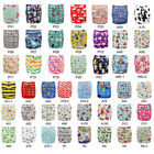 Baby Cloth Diapers Lot One Size Reusable Washable Pocket Nappies  Insert