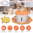 Safe Pet Water Fountain For Cat Dog Automatic Waterer Bowl Feeder Dispenser H2X9