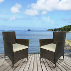 4 Pc Rattan Patio Furniture Set Wicker Conversation Set Garden Lawn Outdoor Sofa