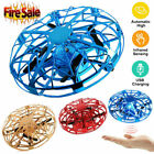 Mini UFO Drone RC Infrared Sensor Induction Aircraft Quadcopter Flying Toy G0M2