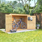 Wooden Pent Shed Bike Garden Storage 6x3 Feet DOES NOT INCLUDE FLOOR/FELT/BASE