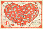 A Pictorial Map of Loveland -Where Everyone should go- Wall Art Poster Print