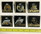 VINTAGE 90'S JACKSONVILLE JAGUARS HAT LAPEL PINS BY PETER DAVID FREE SHIPPING $6.0 USD on eBay