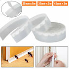 Door Bottom Self Strip Adhesive Weather Stripping Silicone Rubber Seal Sweep Hot