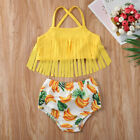 US Summer Toddler Baby Girl Bikini Set Swimwear Swimsuit Bathing Suit Beachwear