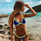 Ladies Sexy Push-Up Brazilian Style Micro Bikini, 9 Colours. UK Stock