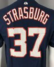 Washington Nationals Stephen Strasburg #37 Navy Blue Jersey T-Shirt (S,M,L,XL)