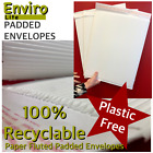 100% Biodegradable Recyclable Paper FLUTED ENVELOPES Padded Mailing Postal Bags
