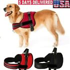No Pull Dog Vest Soft Reflective Harness for Extra Big Large Medium dog Black