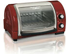 Hamilton Beach Easy Reach Toaster Oven With Roll Top Door Home Good photo