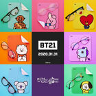 BTS BT21 Official Authentic Goods Look Optical Glasses series + Tracking Num