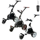Ben Sayers Electric Golf Trolley FREE GIFTS Battery Colour Options Remote Cart