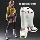 NEW Final Fantasy 15 XV FFXV Cindy Aurum PU Cosplay shoes boots Custom-made Z.07