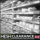 WOVEN WIRE MESH CLEARANCE ALL STOCKS REDUCED TO CLEAR BRASS, STEEL, SS, COPPER