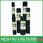 Green PVC Coated Chicken Mesh Rabbit Mesh(25mm & 50mm Hole)Garden Aviary Fencing