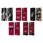 OFFICIAL NBA 2019/20 MIAMI HEAT LEATHER BOOK WALLET CASE FOR APPLE iPHONE PHONES on eBay