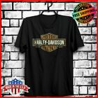 Harley Davidson T-Shirt Black Men's Unique T Shirt Full Size S-6XL Tee Best Gift $10.99 USD on eBay