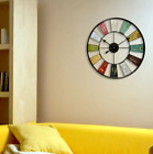 Oversized Willcox 24 Kaleidoscope Wall Clock