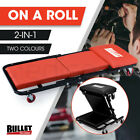 BULLET Folding Creeper Mechanics Stool Seat Mechanic Trolley Garage Workshop
