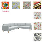 Custom Made Cover Fits IKEA Karlstad 2+3/3+2 Corner, Sectional Sofa, Patterned