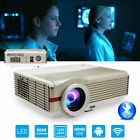 HD Android WiFi Projector Blue-tooth Smart Home Theater Wireless for Youtubue TV