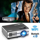 Android Blue-tooth Projector Smart Home Theater Miracast Airplay Support 1080P