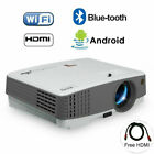 LCD Projector Android Blue-tooth Multimedia Movie HDMI Video WiFi Home Theater