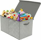 Sorbus Toy Chest with Flip-Top Lid, Kids Collapsible Storage for Nursery,