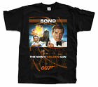 James Bond: The Man with the Golden Gun V1, T-Shirt (BLACK) All sizes S to 5XL $18.0 USD on eBay