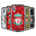 LIVERPOOL FC LFC CAMOU BLACK WATER RESISTANT CASE FOR FOR APPLE iPHONE PHONES