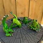 Frogs Decorative Yoga Frog Figurines Funny Garden Home Décor Animal Ornament