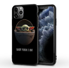 The Child Baby Yoda Star Wars Silicone iPhone Case Cover For iPhone X 11 Pro Max