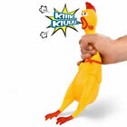 Funny Screaming Rubber Yellow Chicken Pet Dog Puppy Toy Squeak Squeakers 2020 UK