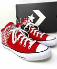 Sneakers Men's Converse Chuck Taylor AS Street Red Logo High Top  Canvas 163955F