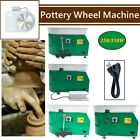 Electric Pottery Wheel Pottery Forming Machine Ceramic Clay Tool DIY Work, Green image
