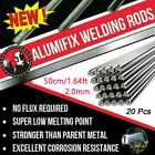 20pcs 1.6/2.0*500mm Wire Brazing Solution Welding Flux-Cored Rods US STOCK
