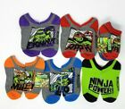 Teenage Mutant Ninja Turtles No Show Socks 5-Pair