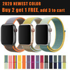 Nylon Sports Band Strap For Apple Watch 38/40/42mm/44mm iWatch Series 5 4 3 2 1 image